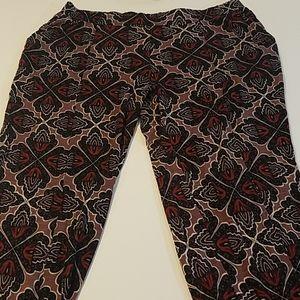 Anthropologie lilka harem jogger pants size medium